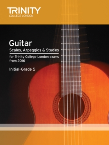 Guitar & Plectrum Guitar Scales & Exercises Initial-Grade 5 from 2016, Paperback Book