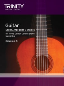 Guitar & Plectrum Guitar Scales & Exercises Grade 6-8 from 2016, Paperback Book
