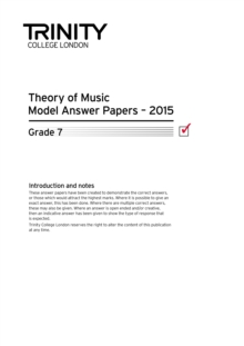 Theory Model Answer Papers Grade 7 2015, Paperback Book