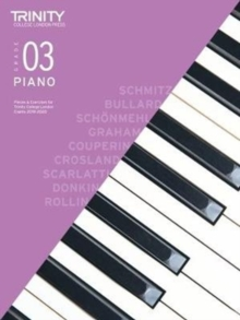Trinity College London Piano Exam Pieces & Exercises 2018-2020. Grade 3, Sheet music Book