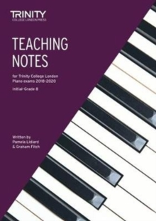Teaching Notes for Trinity College London Piano Exams 2018-2020, Sheet music Book