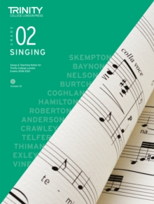 Trinity College London Singing Grade 2 2018-2021, Sheet music Book