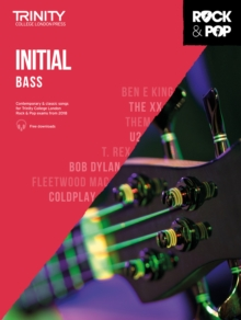 Trinity Rock & Pop 2018 Bass Initial, Sheet music Book