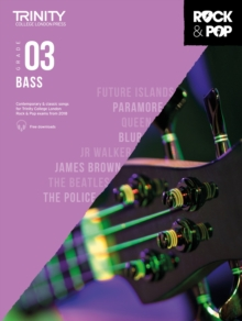 Trinity Rock & Pop 2018 Bass Grade 3, Sheet music Book