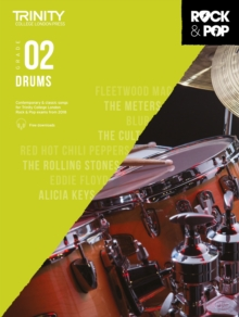 Trinity College London Rock & Pop 2018 Drums Grade 2, Sheet music Book