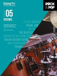 Trinity Rock & Pop 2018 Drums Grade 5, Sheet music Book