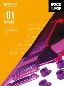 Trinity College London Rock & Pop 2018 Guitar Grade 1 CD Only, Sheet music Book
