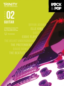 Trinity College London Rock & Pop 2018 Guitar Grade 2 CD Only, Sheet music Book