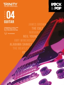 Trinity Rock & Pop 2018 Guitar Grade 4, Sheet music Book