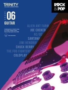 Trinity Rock & Pop 2018 Guitar Grade 6, Sheet music Book