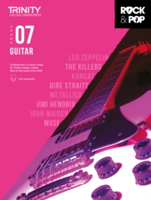 Trinity College London Rock & Pop 2018 Guitar Grade 7 CD Only, Sheet music Book