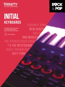 Trinity College London Rock & Pop 2018 Keyboards Initial Grade, Sheet music Book