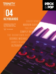 Trinity Rock & Pop 2018 Keyboards Grade 4, Sheet music Book
