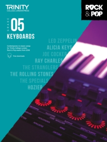 Trinity College London Rock & Pop 2018 Keyboards Grade 5 CD Only, Sheet music Book