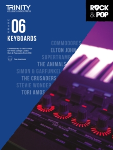 Trinity Rock & Pop 2018 Keyboards Grade 6, Sheet music Book