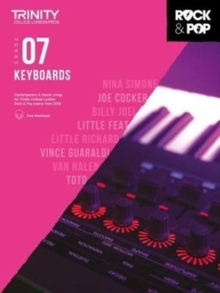 Trinity College London Rock & Pop 2018 Keyboards Grade 7, Sheet music Book