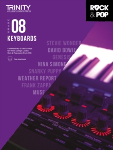 Trinity College London Rock & Pop 2018 Keyboards Grade 8 CD Only, Sheet music Book