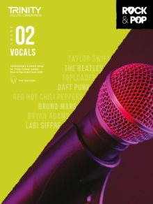 Trinity College London Rock & Pop 2018 Vocals Grade 2, Sheet music Book