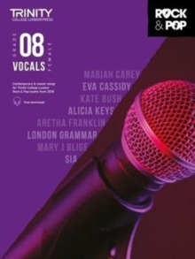 Trinity College London Rock & Pop 2018 Vocals Grade 8 CD Only, Sheet music Book