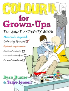 Colouring for Grown-ups : the adult activity book, Paperback Book