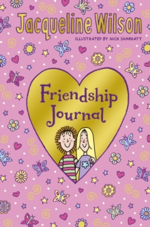 Jacqueline Wilson Friendship Journal, Hardback Book