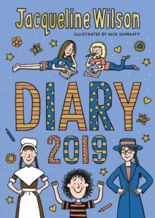 The Jacqueline Wilson Diary 2019, Paperback / softback Book