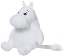 MOOMIN 8 INCH SITTING SOFT TOY,  Book