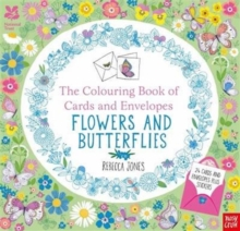 National Trust: The Colouring Book of Cards and Envelopes - Flowers and Butterflies, Paperback / softback Book