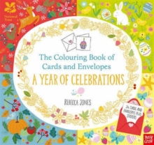 National Trust: The Colouring Book of Cards and Envelopes: A Year of Celebrations, Paperback Book