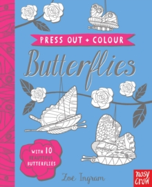 Press Out and Colour: Butterflies, Board book Book