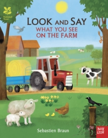National Trust: Look and Say What You See on the Farm, Paperback Book