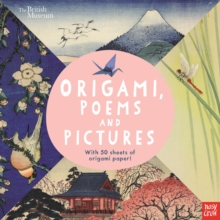 British Museum: Origami, Poems and Pictures - Celebrating the Hokusai Exhibition at the British Museum, Paperback Book