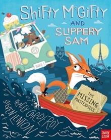 Shifty McGifty and Slippery Sam: The Missing Masterpiece, Paperback Book