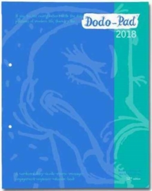 Dodo Pad Loose-Leaf Desk Diary 2018 - Week to View Calendar Year Diary : A Family Diary-Doodle-Memo-Message-Engagement-Organiser-Calendar-Book with Room for Up to 5 People's Appointments/Activities, Diary Book