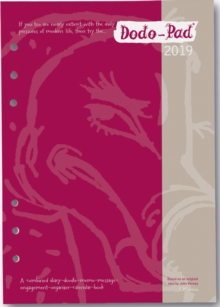 Dodo Pad Filofax-Compatible 2019 A5 Refill Diary - Week to View Calendar Year : A Combined Family Diary-Doodle-Message-Engagement-Organiser with room for up to 5 people's appointments/activities, Diary Book