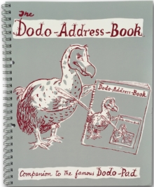 Dodo Address Book (Upcycled - RING-BOUND) : A Companion to the famous Dodo Pad diary, Spiral bound Book