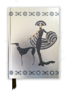 Erte Symphony in Black (Foiled Journal), Hardback Book