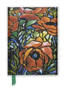 Tiffany: Oriental Poppy (Foiled Journal), Hardback Book