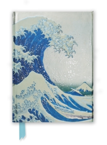 Hokusai: The Great Wave (Foiled Journal), Hardback Book