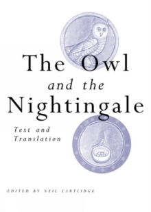 The Owl and the Nightingale : Text and Translation, Paperback / softback Book