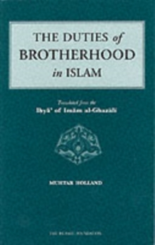 The Duties of Brotherhood in Islam, Paperback Book