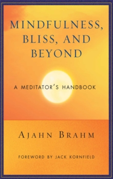 Mindfulness Bliss and Beyond : A Meditator's Handbook, Paperback / softback Book
