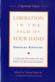 Liberation in the Palm of Your Hand, Paperback Book