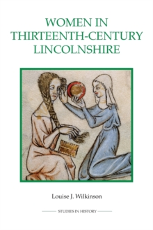 Women in Thirteenth-Century Lincolnshire, Paperback Book