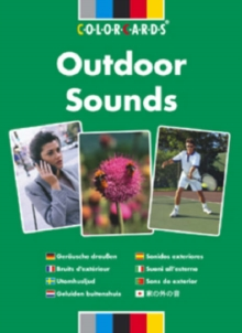 Listening Skills Outdoor Sounds: Colorcards, Cards Book