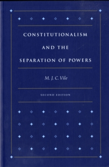 Constitutionalism and the Separation of Powers, Paperback / softback Book
