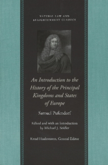 An Introduction to the History of the Principal Kingdoms and States of Europe, Hardback Book
