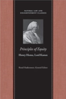 Principles of Equity, Hardback Book