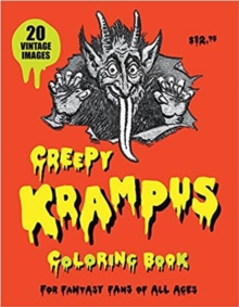 Creepy Krampus Coloring Book, Paperback Book