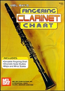CLARINET FINGERING CHART,  Book